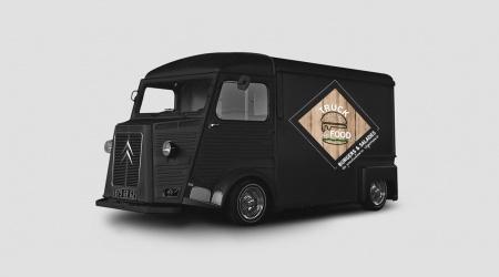 Citroen Tube Mock Up Truck de Food Graphisme