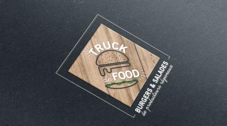 Mock Up Identité visuelle Truck de Food Graphisme