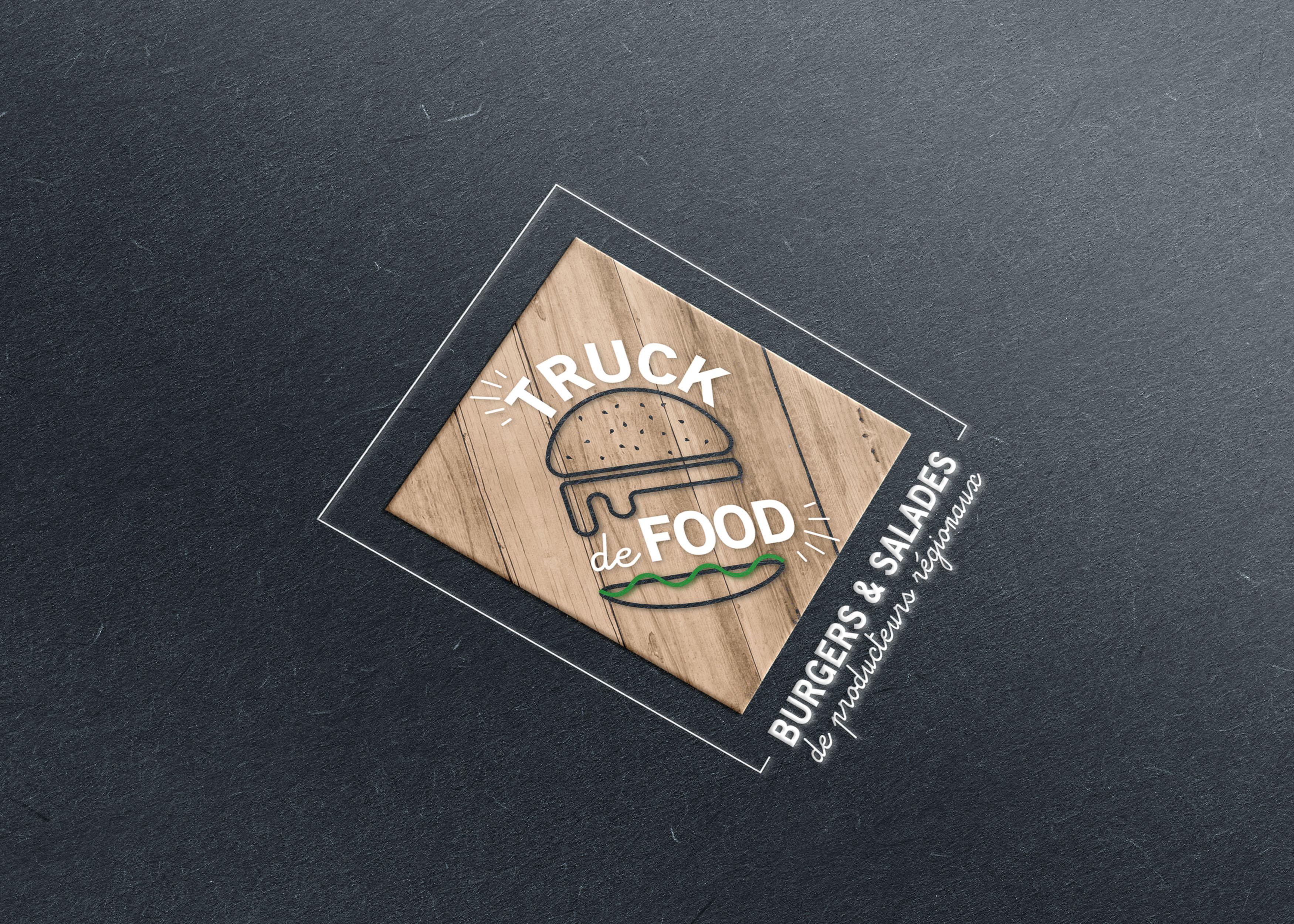 Logo Truc de Food Graphisme