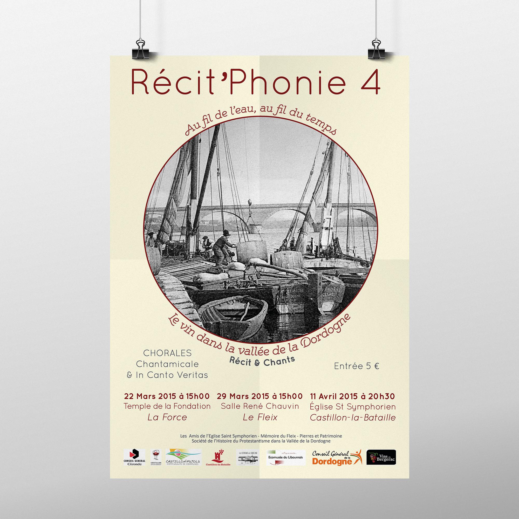 Affiche Recit'Phonie