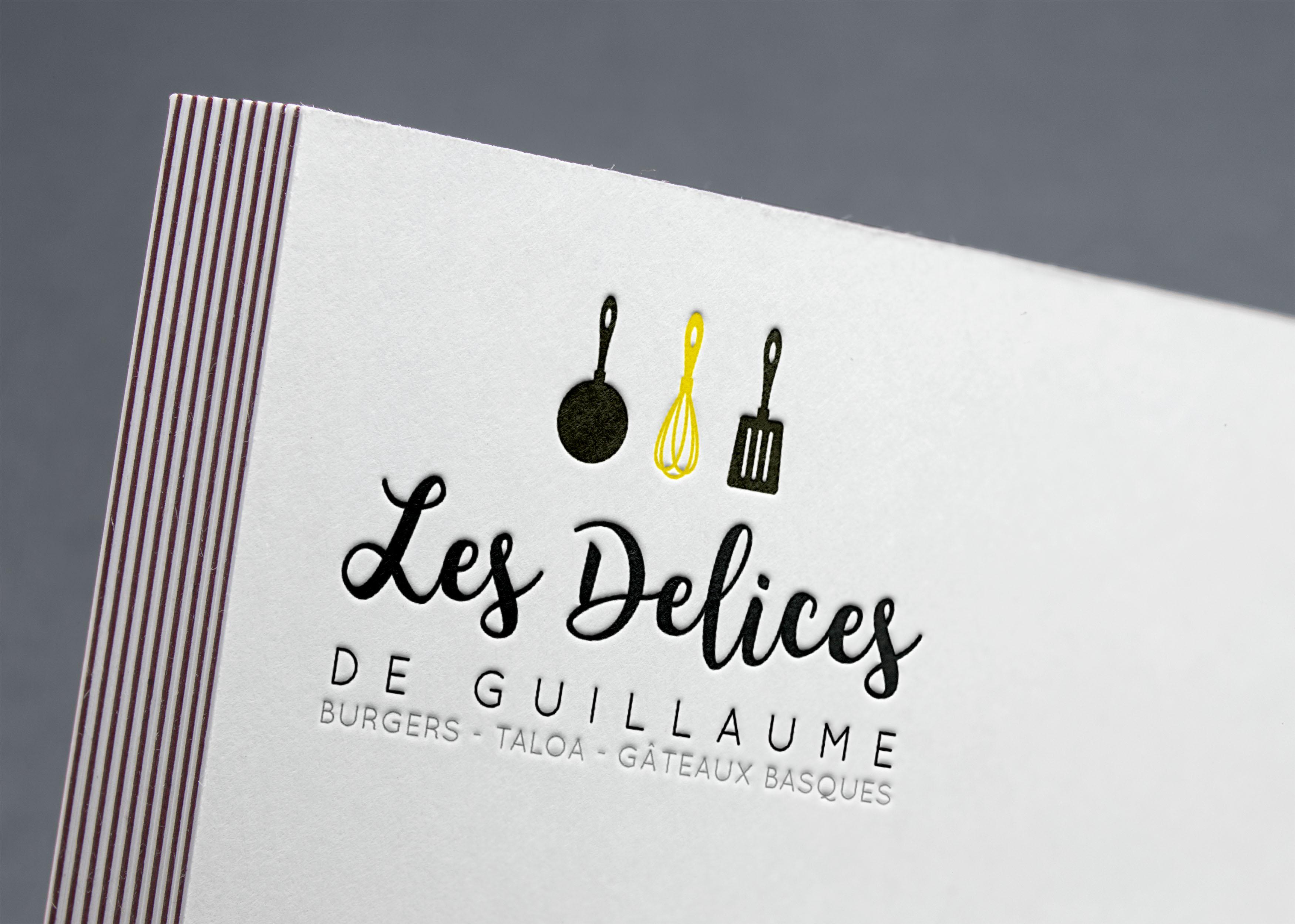 Logo les délices de guillaume